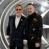 Hosts Elton John (left) and David Furnish