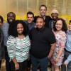 The 2017 HIV 360° Fellows. Front row from left to right: Ashley Young, Socorro Mooreland, Erika Usui, Charlie Ferrusi and William Campillo Terrazas. Back row from left to right: Jalenzski Brown, Damon Johnson, Francisco Cortes, Daniel Szymcyzk and Daniel