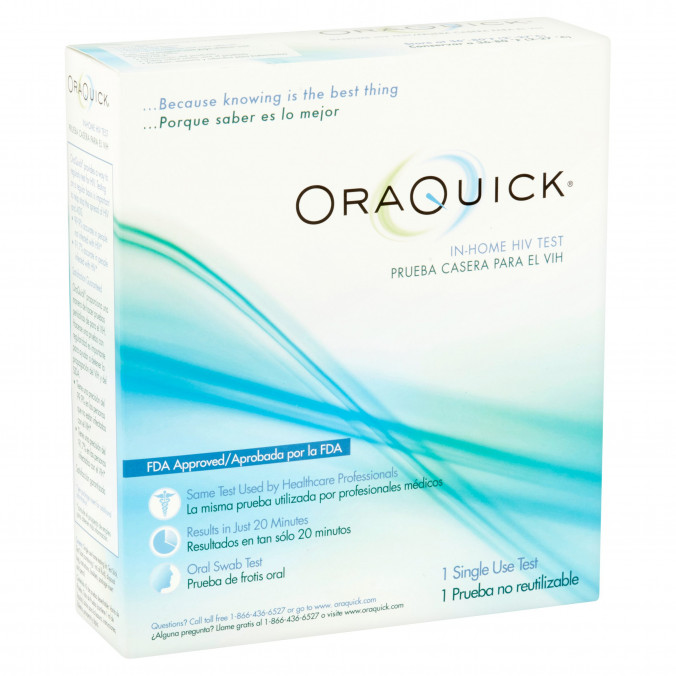 OraQuick In-Home HIV Test Available in Stores Nationwide - POZ
