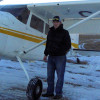Greg and his plane
