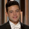 Rami Malek accepts the award for Best Performance by an Actor in a Motion Picture - Drama at the 2019 Golden Globe Awards.